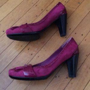 Franco Sarto Shoes - Comfy Franco Sarto Heels with Fun Front Detail